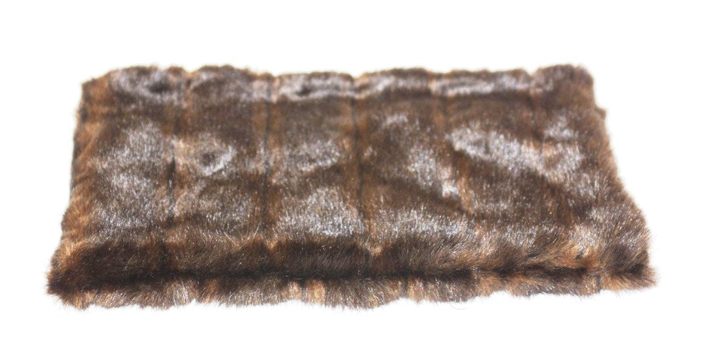 Brown Mink All Plush Crate Liner
