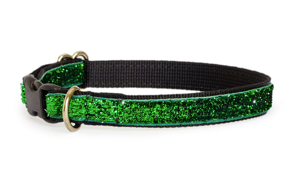 Emerald Glam Dog Collar