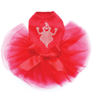Fat Rhinestone Ghost - Tutu - Black, Pink or Red