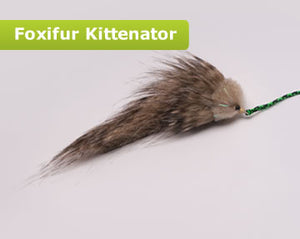Foxifur Kittenator (Fancy Mouse) with Rod