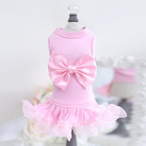 Ballerina Pink Dog Dress