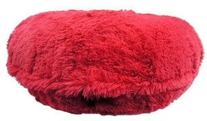 Hot Pink Shag Bagel Beds
