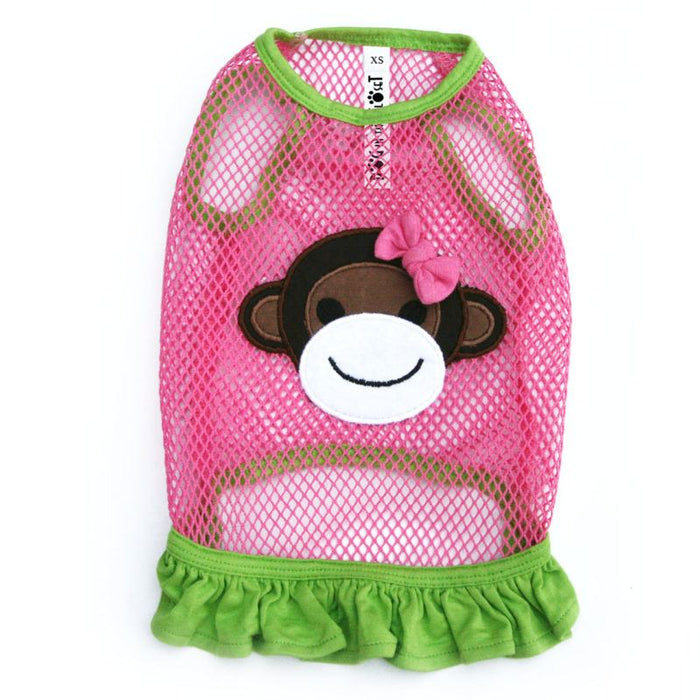 Lahaina Fishnet Monkey Dog Dress