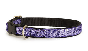 Lilac Glam Dog Collar