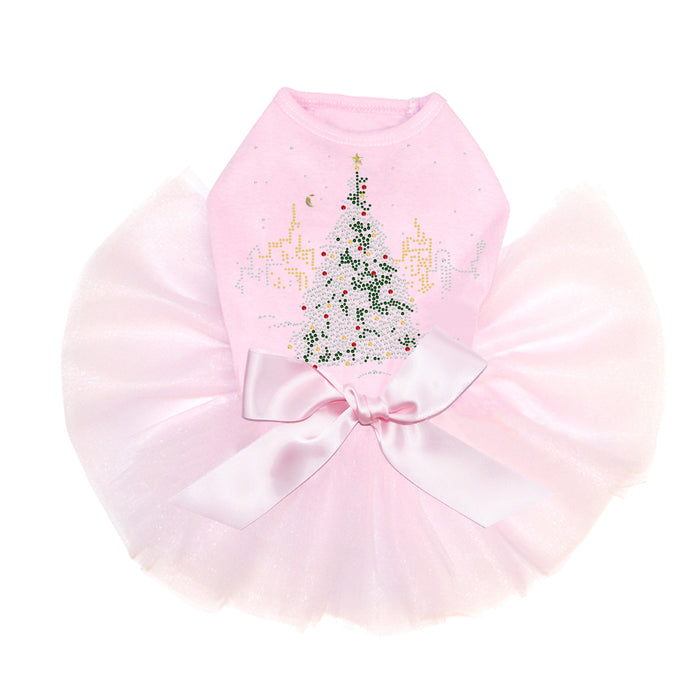 Christmas Tree in the City Tutu-Pink