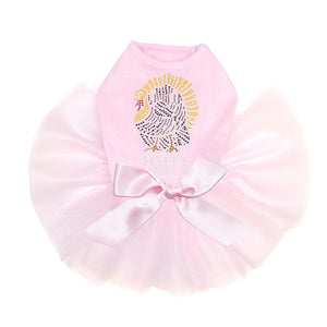 Happy Thanksgiving - Tutu - Black, Pink or Red