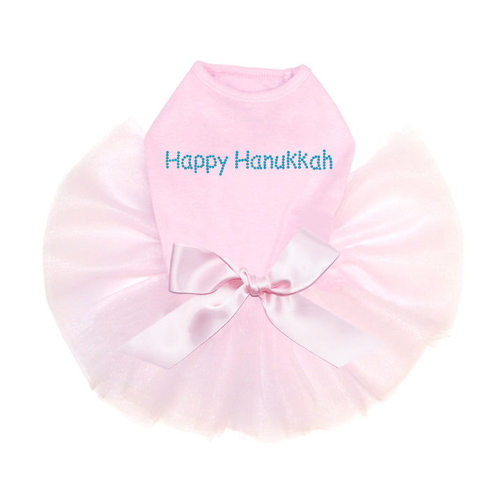 Happy Hanukkah - Tutu Pink