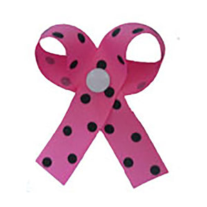 Dippy Dot Hot Pink and Black Potty Time Chimes Training Aid