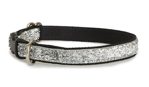 Platinum Glam Cat Collar