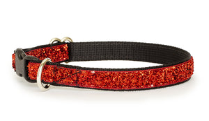 Ruby Glam Dog Collar