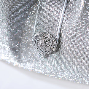Silver Imperial Crystal Bag