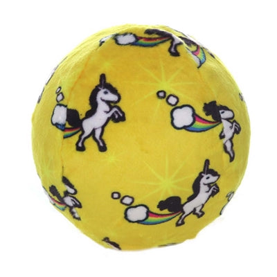 Mighty Balls Unicorn Yellow Medium
