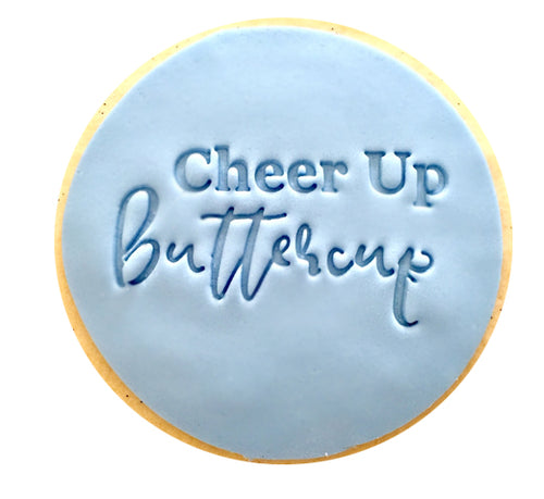 Cheer Up Buttercup Cookies
