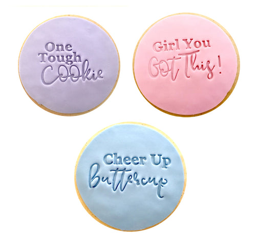 Cheer Up Trio Cookies