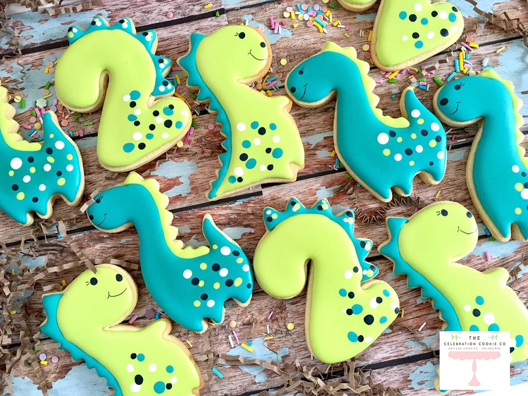 Dinosaur Birthday Cookie Set