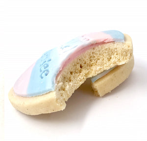 He or She? Gender Reveal Cookies