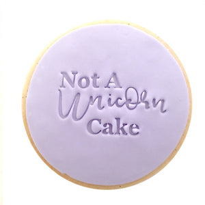 Not A Unicorn Cake Cookies