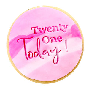 Twenty One Today Cookies