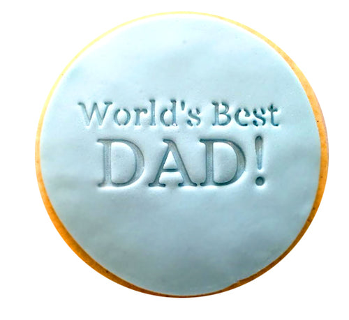 World's Best Dad Cookies