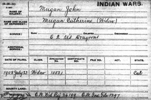 Indian War Pension File