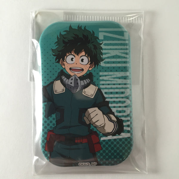 [Midoriya Izuku] Plus Ultra! Job Training! Rectangle Can Badge