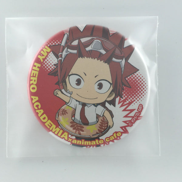 [Kirishima Eijirou] Animate Cafe Can Badge