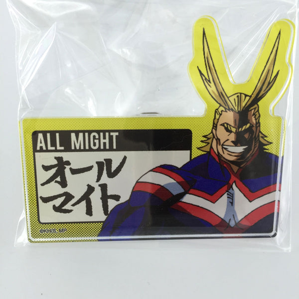 [All Might] Plus Ultra! Job Training! Name Tag Acrylic Badge