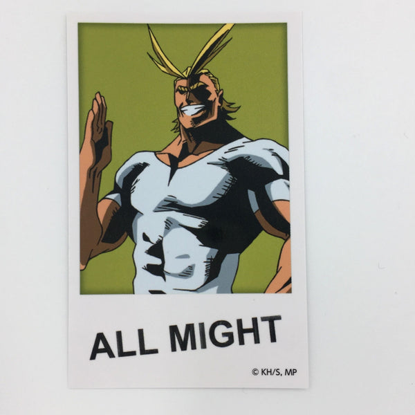 [All Might] J-World Tokyo Illustration Card