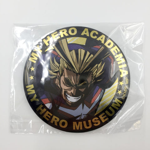 [All Might] Museum Can Badge