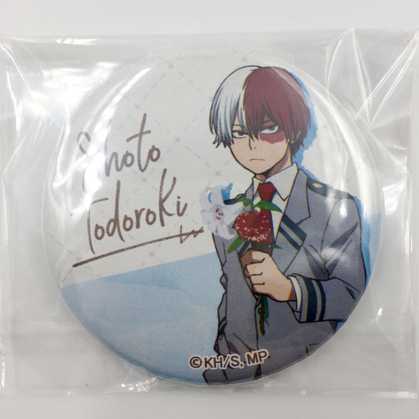 [Todoroki Shouto] AGF Flower Can Badge