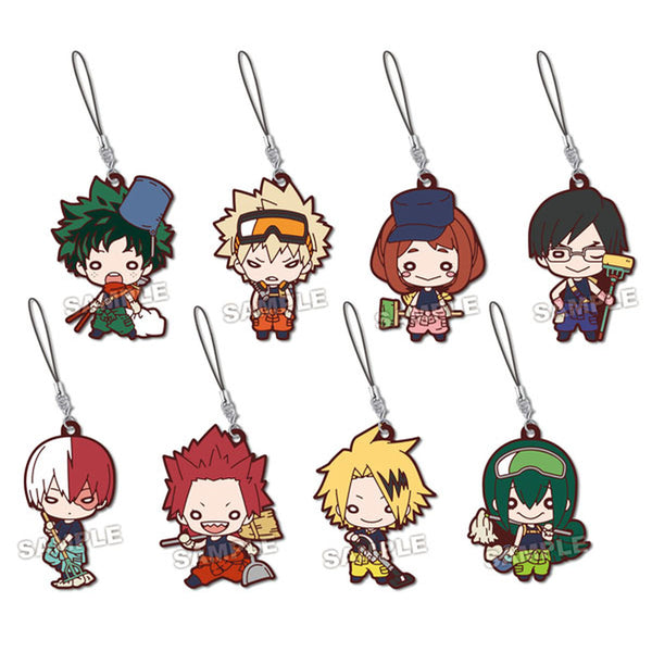 [Splits] Nitotan Cleaning Up Rubber Straps