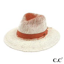 Load image into Gallery viewer, Two Tone Gradient Panama Hat