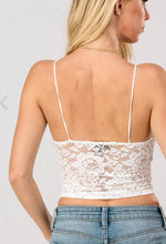 Load image into Gallery viewer, Lace Bralette Cami