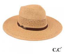 Load image into Gallery viewer, C.C Panama Hat