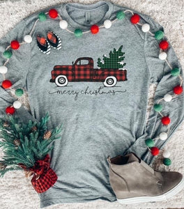 Christmas Truck Long Sleeve