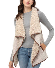 Load image into Gallery viewer, Faux Shearling Vest