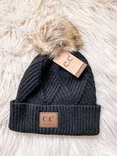 Load image into Gallery viewer, C.C Chevron Knit Beanies