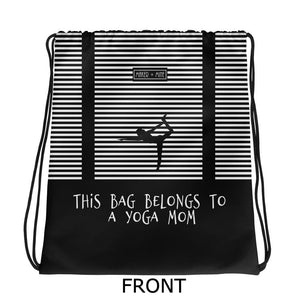 Yoga Mom - H Stripes Bag - Maker & Mine