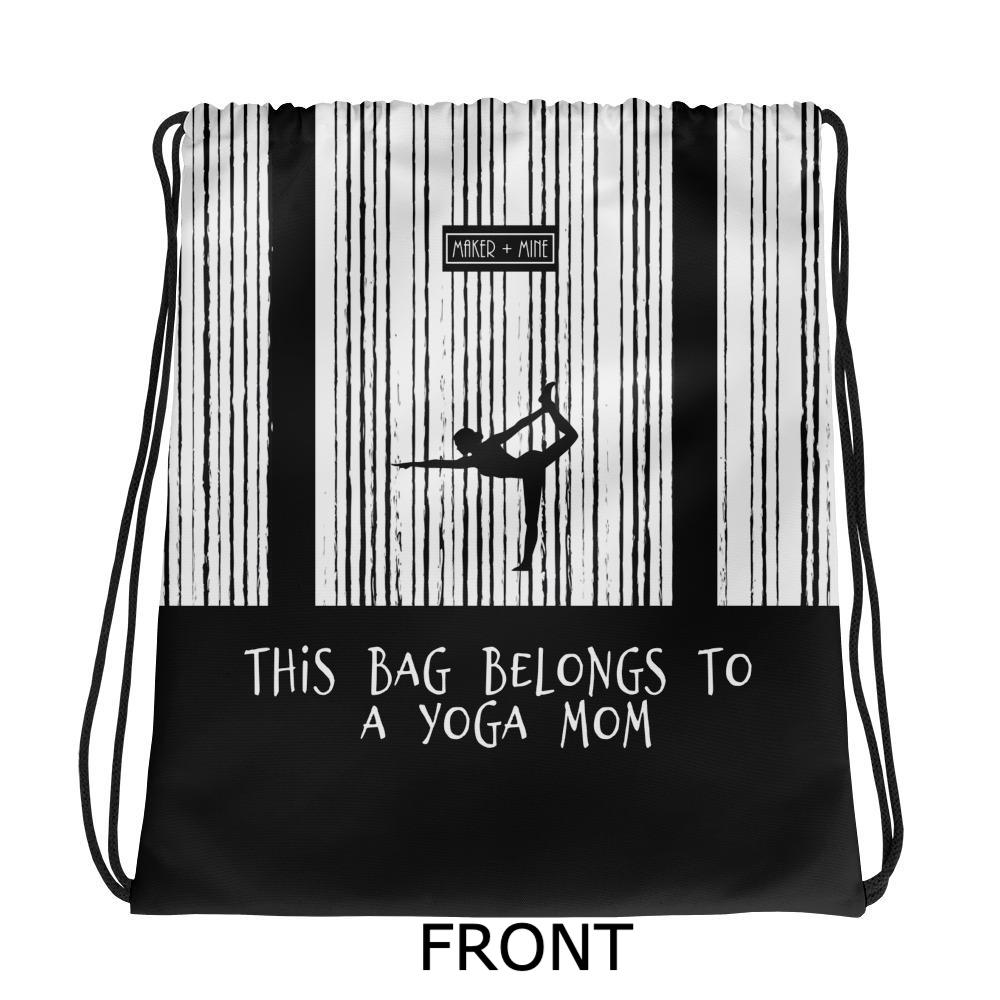 Yoga Mom - V Stripes Bag - Maker & Mine