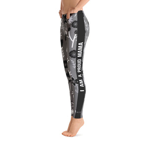 Flower Pattern - Women's  Leggings - Maker & Mine