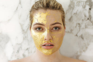 24K Gold Facial Treatment - Masked by Models