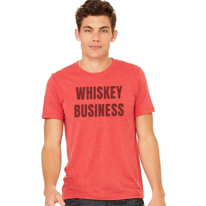 Red Whiskey Biz Tee (Men's)