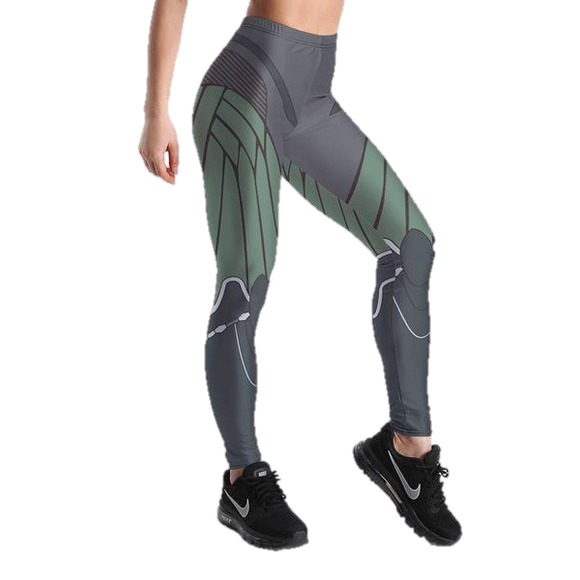 Grey Transformers Robot Leggings