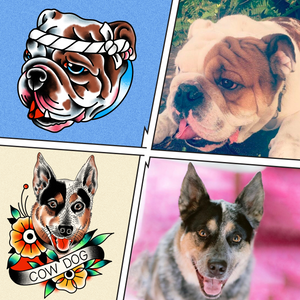 *NEW* Cartoonified Pet Stickers