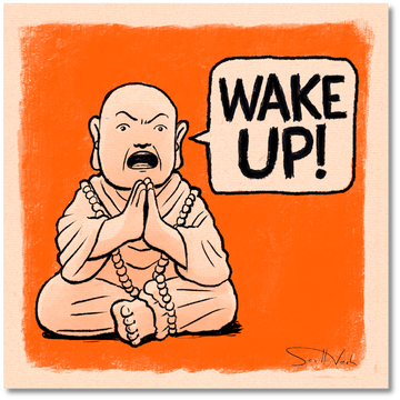 Buddha Wake Up!