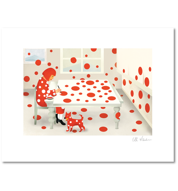 Ellen Weinstein: Yayoi Kusama Paints Her Dots Every Day