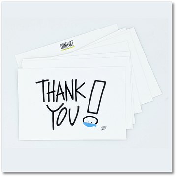 Endless Thanks Postcard Pack (8)