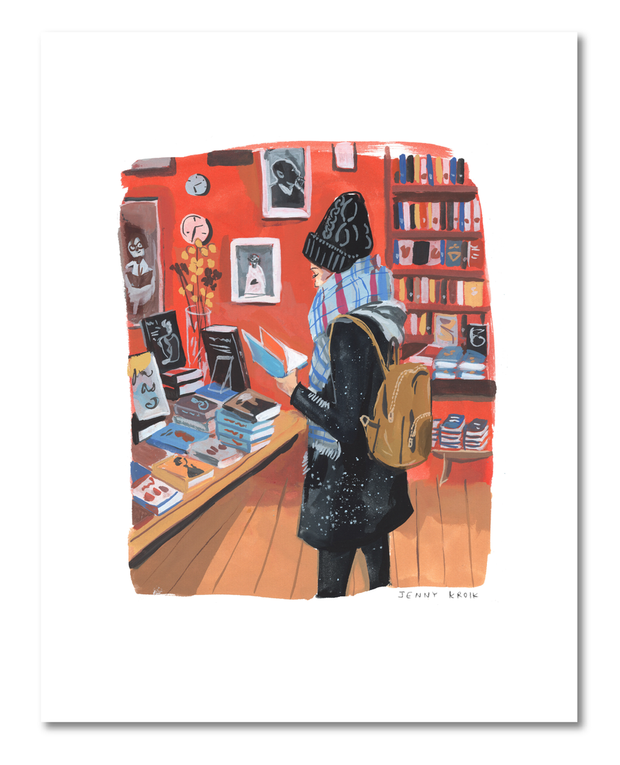 Jenny Kroik: Book Culture Winter