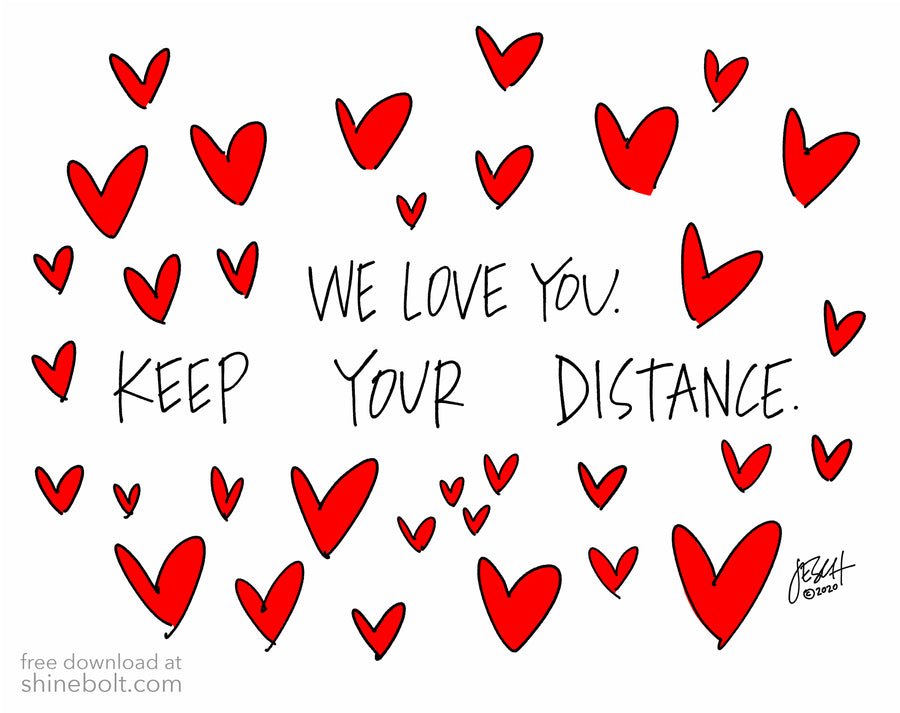 Keep Your Distance (plural): Free Download