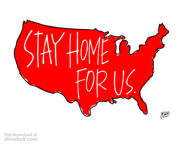 Stay Home for US: Free Download
